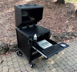 Bigfoot Cart System with monitor shade option2