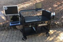 -Bigfoot Large Console DoubleRack Cart open
