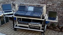 Bigfoot Large audio console cart system2