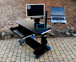 Microsoft Sit-Stand desk up