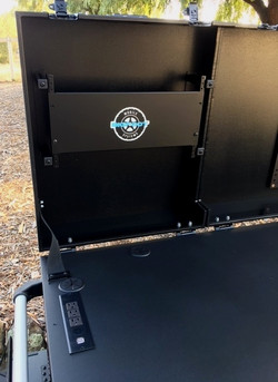 Bigfoot Triplerack cart 6RU lid rack