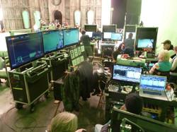 Bigfoot systems sighting 2012 Resident Evil Set