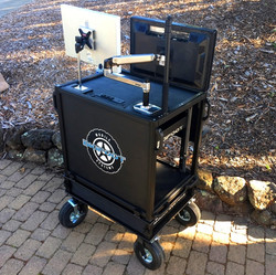 Bigfoot Solid inset top with Dual removable monitor mounts