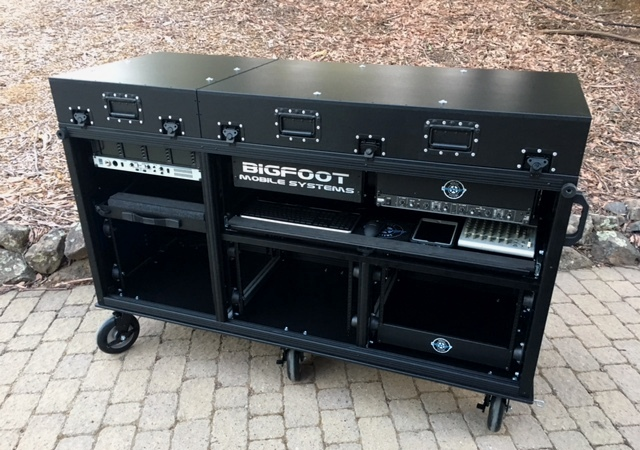 Comcast-Bigfoot Triplerack cart racks