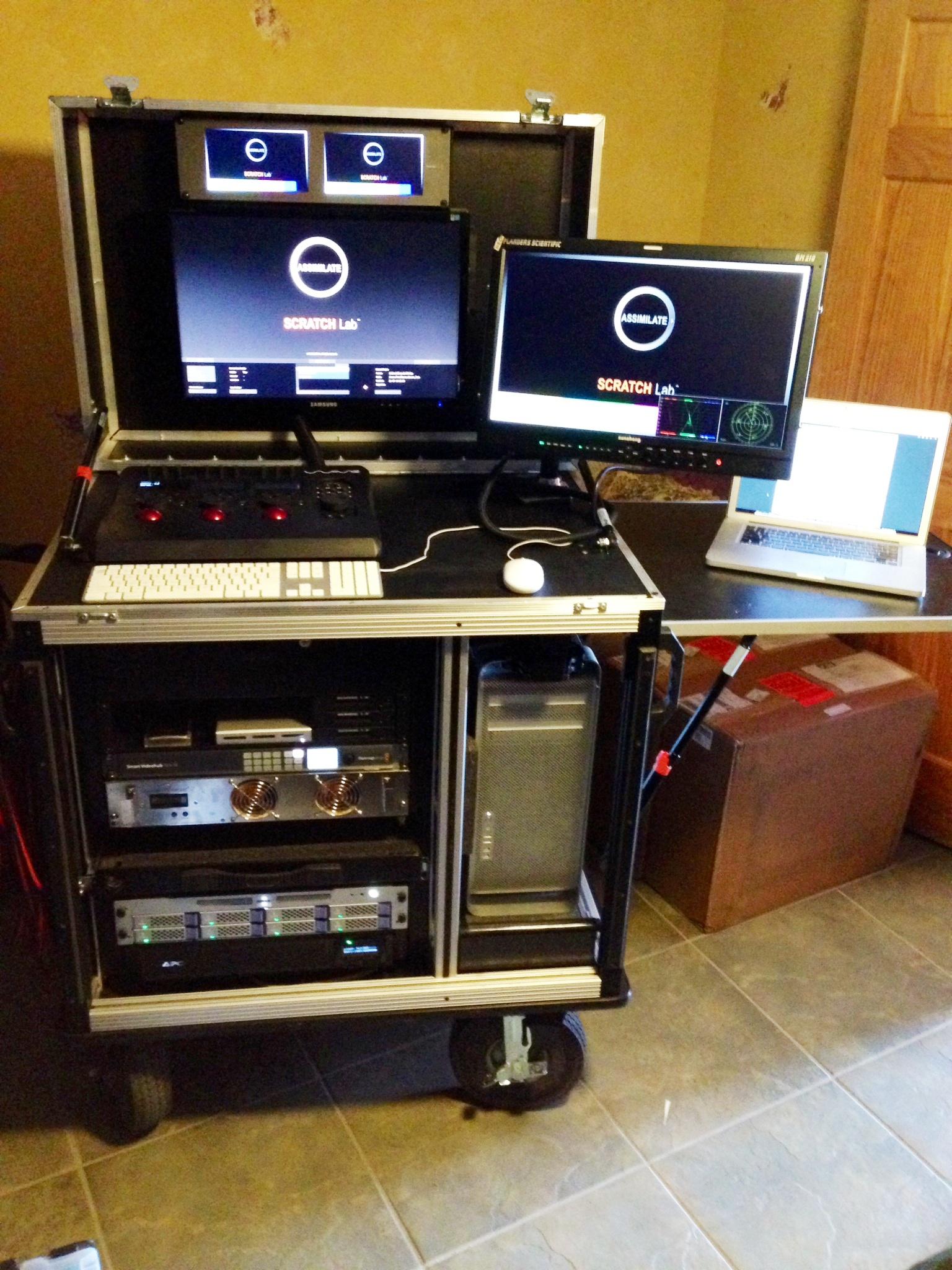 Bigfoot  MAC N RACK-Rackplus Dual monitor