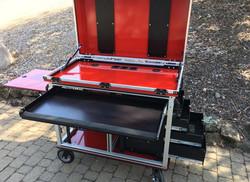 Bigfoot Doublewide cart big drawer