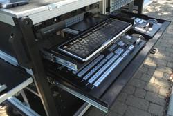 Bigfoot with upper KB drawer, upper rack space