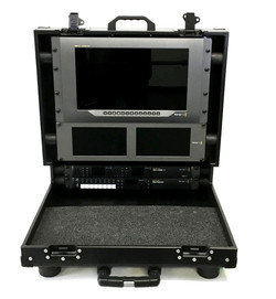 Bigfoot BM Briefcase Flypak open 11RU with 9RU In lid -