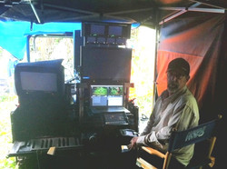 Bigfoot with Flip up monitor rack on Hawaii Five-O set