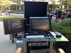 Von Thomas DIT on-set with Bigfoot