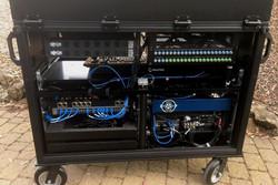 Bigfoot Cart System REAR frame and shockrack detail -
