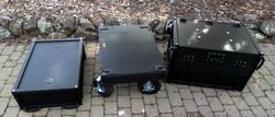 Bigfoot Side operator 3 piece cart Split-apart