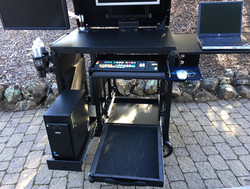 Rackplus with computer drawer, monitor drawer 5