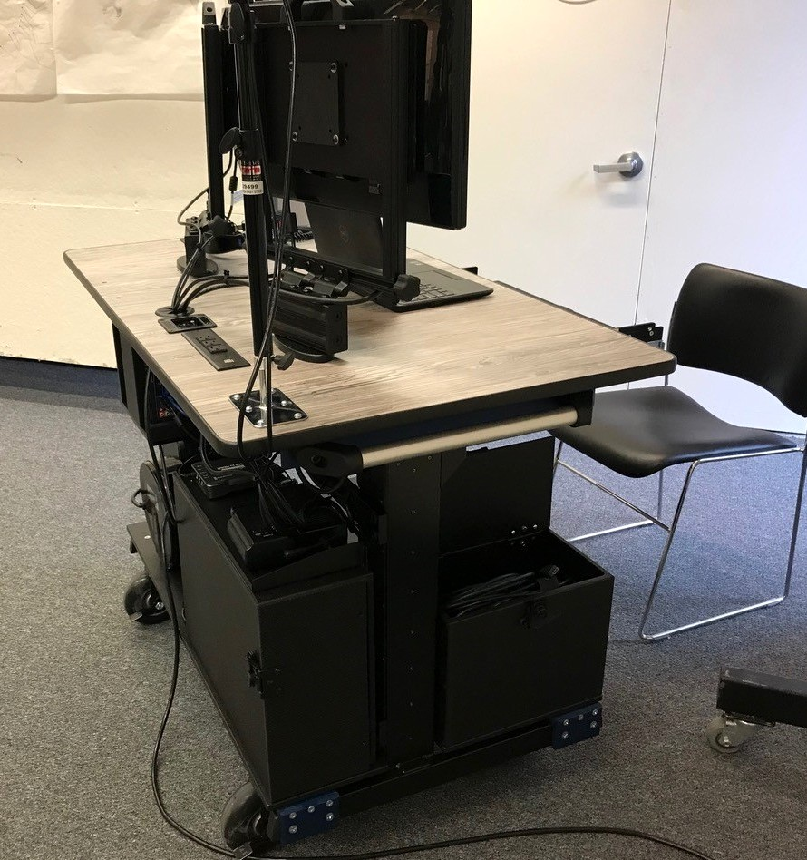 HARVARD SCHOOL OF DESIGN- Bigfoot Mobile Systems video production ROLLING DESK SIDE2