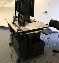 HARVARD SCHOOL OF DESIGN- Bigfoot Mobile Systems video production ROLLING DESK SIDE2