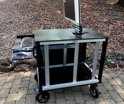 SingleRack Cart, side panel removed
