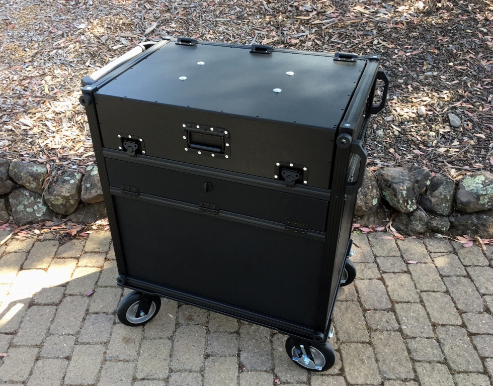 Bigfoot SideOps Cart system closed