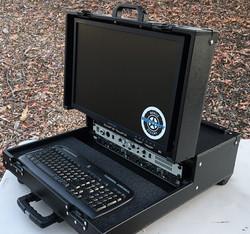 Versa Briefcase with standard VESA mount monitor