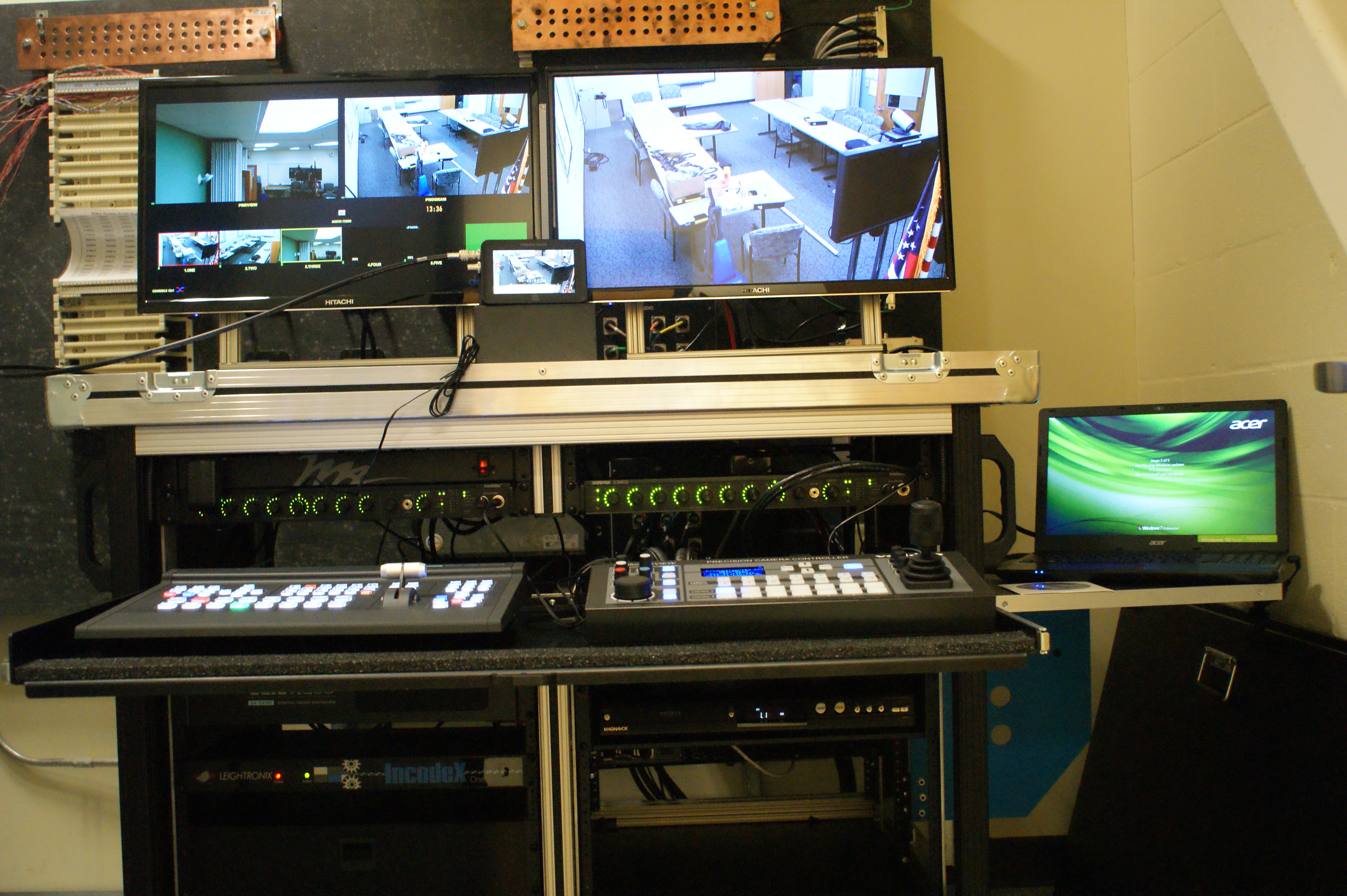 Ross System installed Sacopee Valley High