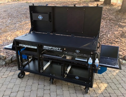 Bigfoot Triplerack cart open