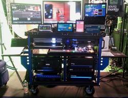 Bigfoot Double Rack system Dual Tricaster 8000-3play