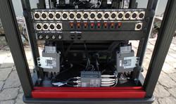 SingeRack Audio Cart connection panels