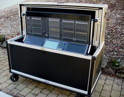 Bigfoot Yamaha CL-5 Audio Cart open half lid