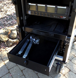 Alumimum storage drawer