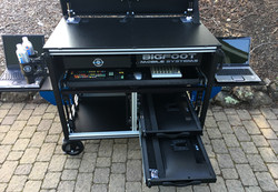 Doublerack with monitor drawers 2018