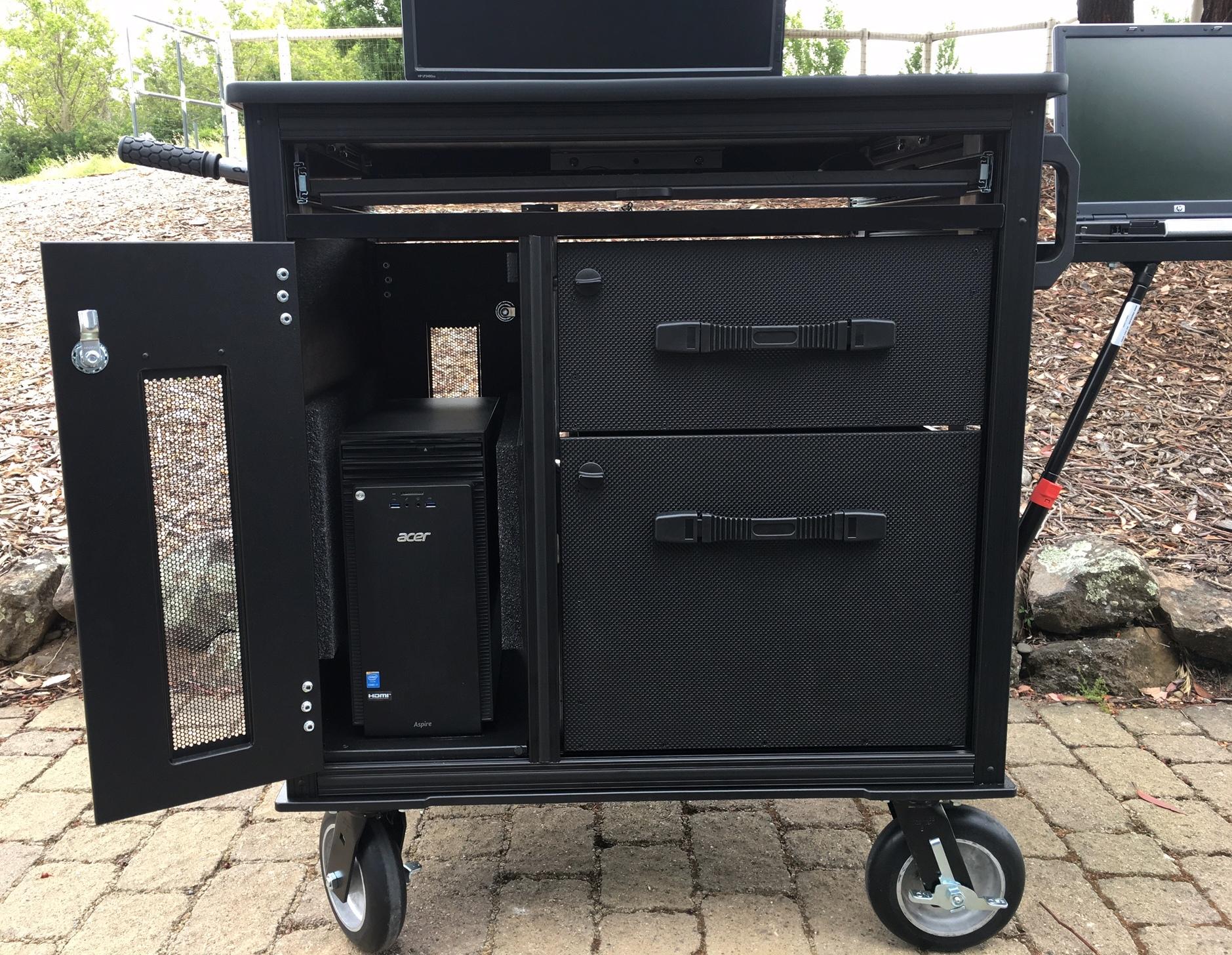 RackPlus Cart computer slot,custom drawers 9