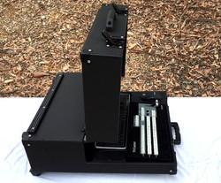 Bigfoot Tricaster Mini Briefcase angle adjustable lid side