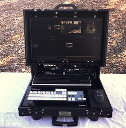 Bigfoot Tricaster Mini Briefcase integrated CS-monitor
