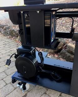 Bigfoot  RollingTech Desk Custom Mini mount -  UPS and power cord reel