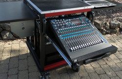 Bigfoot-  Audio mixer in 'containment' style drawer2