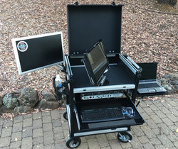 SideOperator,with in lid swing-swivel monitor 14