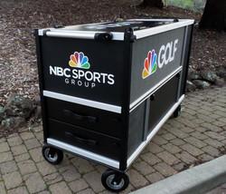 Golf Channel Cargo cart end