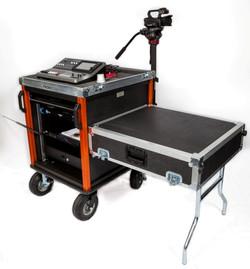 SingleRack Amazon-Bigfoot cart withlif off lid-table