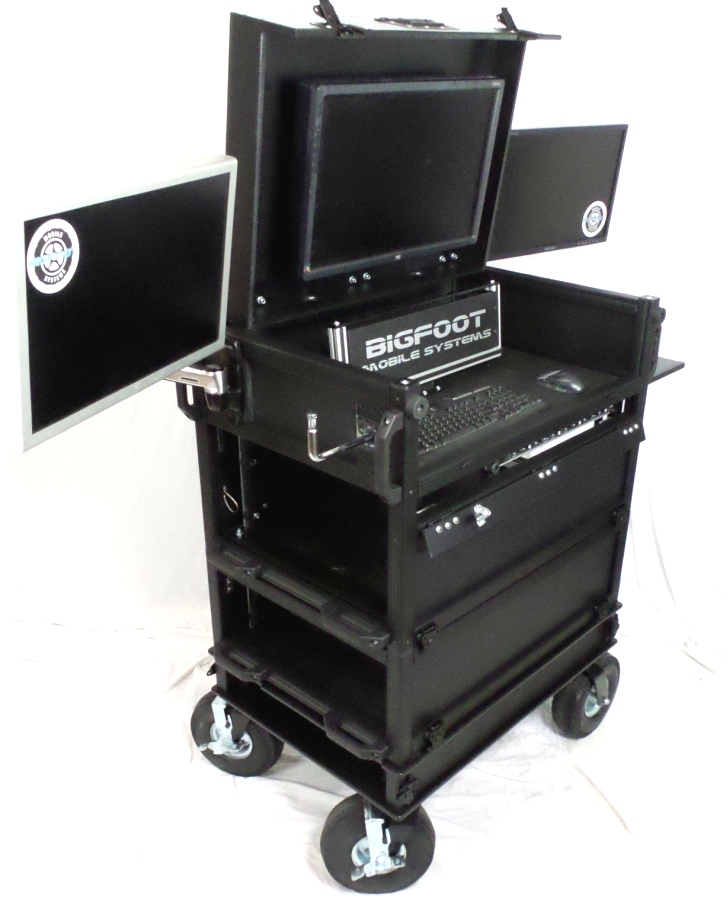 Bigfoot Side operator 3 piece Split-apart cart