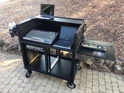 Bigfoot Large Audio Console System open -10RU racks