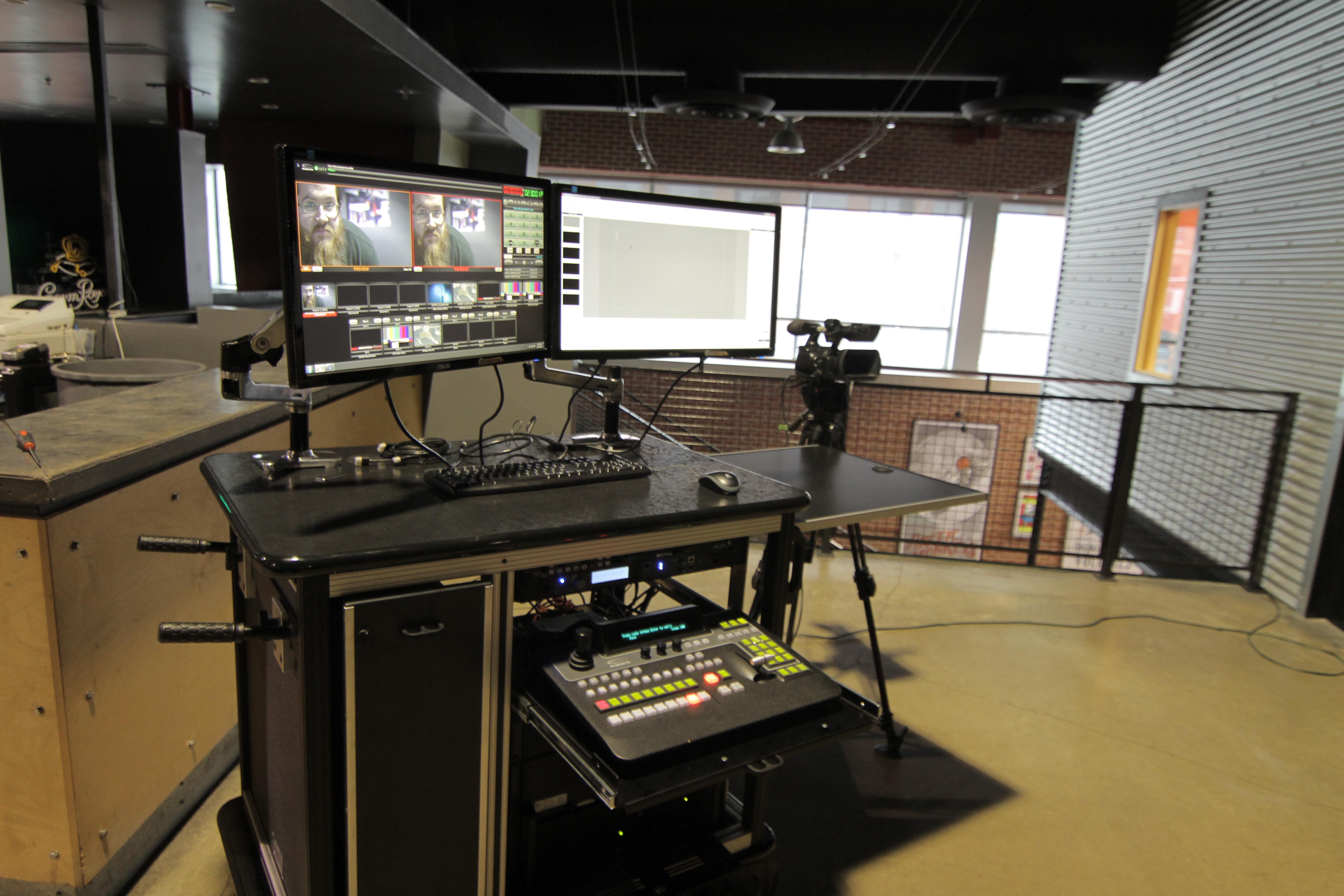 Broadcast Pix system