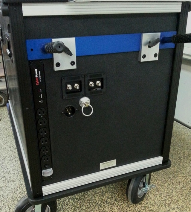 Bigfoot cart with power-connection option