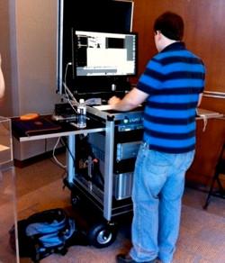 Lightiron Digital at Disney Muppetts shoot with Bigfoot cart -web