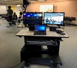 Sit/Stand Rollin' Desk