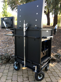 Bigfoot Side Ops Cart with Dual C-stand mounts