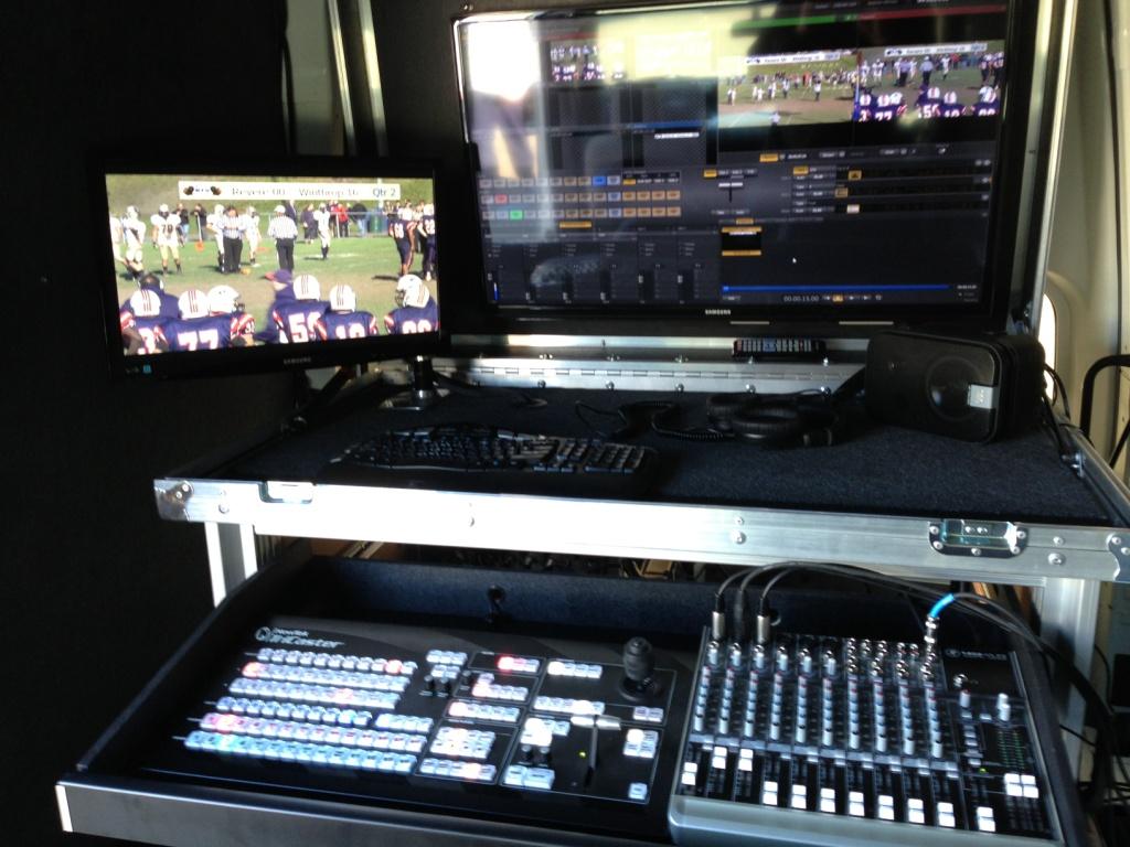 Bigfoot 455 double wide in small van2 Revere TV