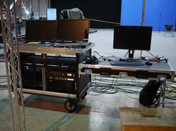Processing on set 6!