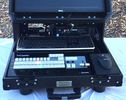 Versa Briefcase Tricaster Mini CS, Keyboard-mouse detail