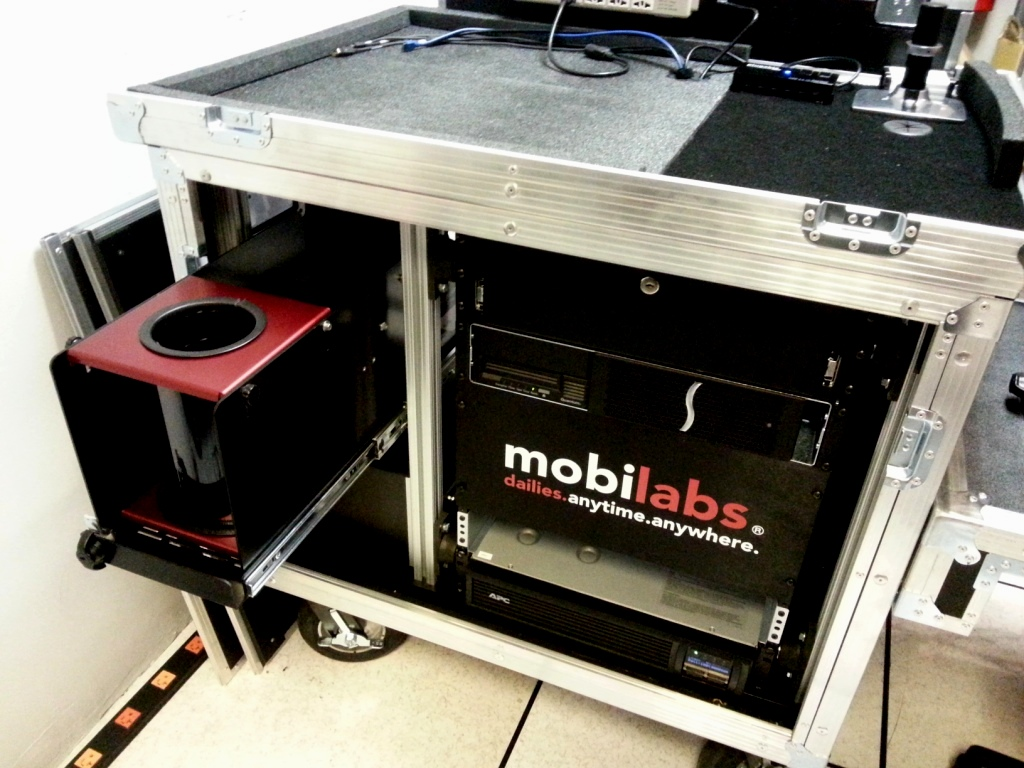 Encore Bigfoot Roadie MAC N RACK 2014 Mobilab cart