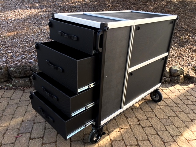 Comcast Camera Cart 1 drawers
