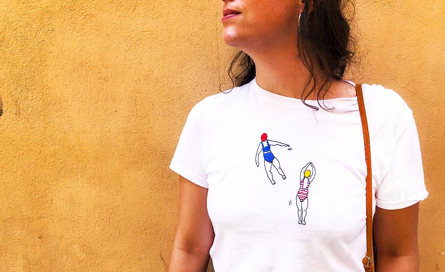Le t-shirt brodé personnalisable
